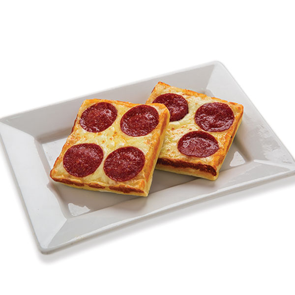 Pepperoni Pan Pan Pizza Image